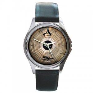Zildjian A Custom 15inch Fast Crash Cymbal Pictures Round Metal Watch