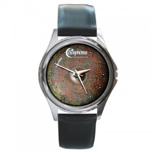 Bosphorus Turk Series Cymbal Pictures Round Metal Watch