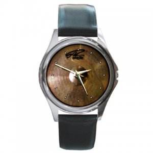 Paiste 502 Ride Cymbal Pictures Round Metal Watch