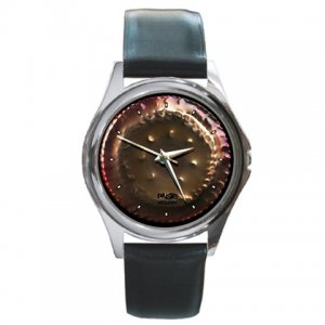 Paiste Accent Gongs Pictures Round Metal Watch