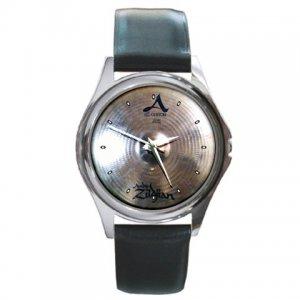 Zildjian A Custom 17inch Crash Cymbal Pictures Round Metal Watch