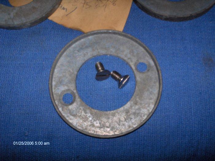 volvo penta ZINC RING 100 100B 100S #  875810 + 2 screws v-15