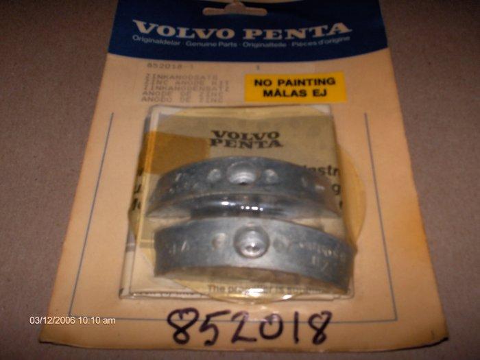 vovo penta FOLDING PROPELLER  anode zinc KIT  # 852018 NEW SEALED