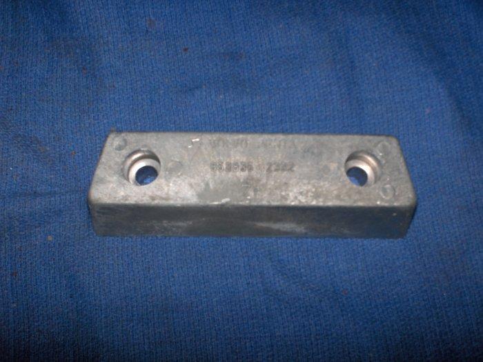 vovo penta  290 anode zinc BAR  852835   TRANSOM