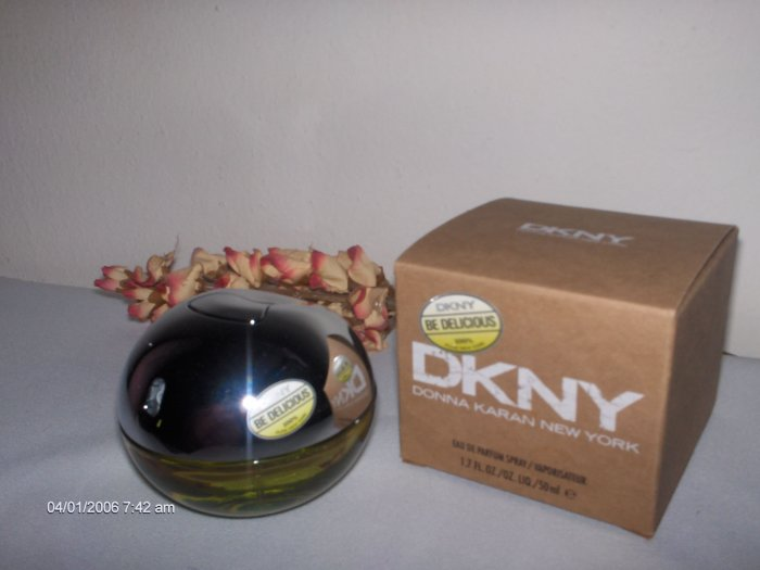 DKNY  DONNA KARAN  BE DELICIOUS PERFUME  1.7 OZ / 50 ML   ! HOT !