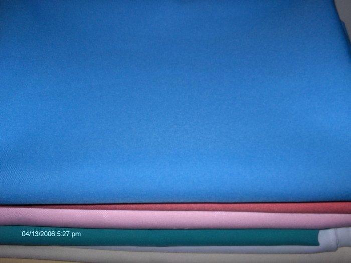 1 dozen   tablecloth  restaurant linen  1 doz  light blue 64 x64  . save by the dozen !!