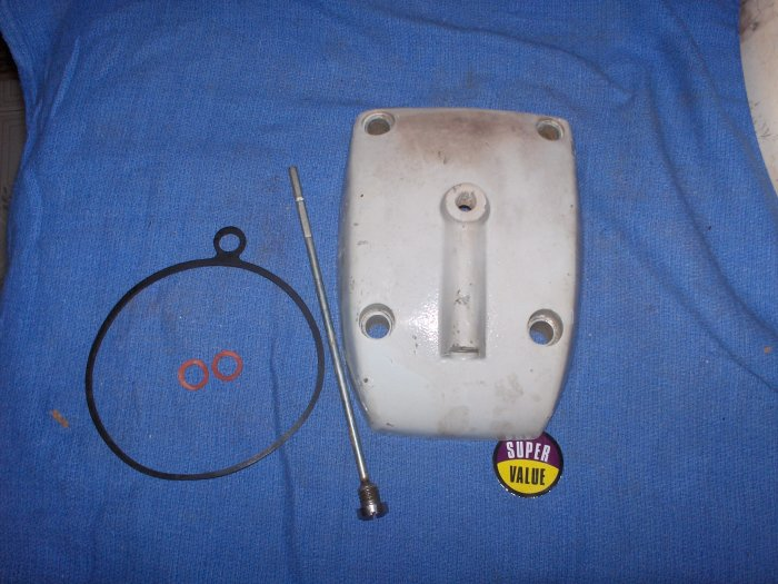 VOLVO upper gear cover PARTS lot # 897372  / 832571  5 pcs NR