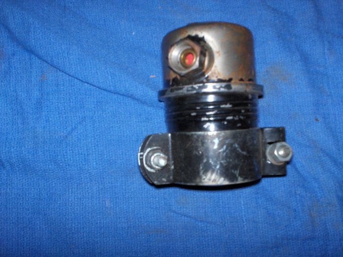 volvo penta fuel filter housing  with filter inside
