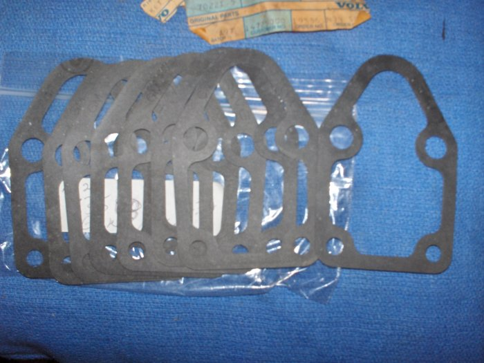 VOLVO PENTA  pump  gaskets lot ( x6) 835087   .MECHANIC SPECIAL