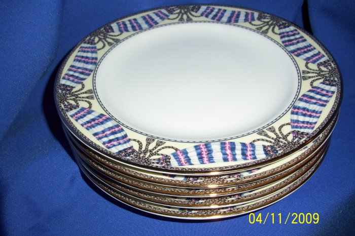 2 philip kingsley fine porcelain 8 inch plate lot new