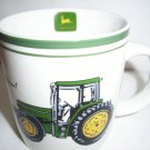 "John Deere  Mug  coffee cup by Gibson Nothing Runs Like a Deer 3 1/2 "" d"