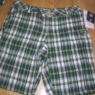usf women shorts  green plaid short pants university of south florida apparel