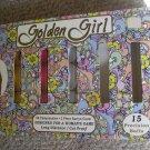 Golden Girl 9 Long Distance Golf Balls NEW Pink White Yellow  in original box