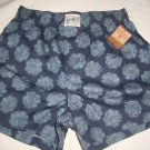 lucky brand boxer  shorts  cotton  blue clovers S 28-30