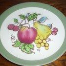 RARE Homer Laughlin Serenade Fruits Apples Pear Berries Dinner Plates OVEN USA