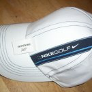 nike golf white hat golf cap unisex adjustable hat