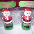 Christmas Solar Powered Dancing   Santa  holiday solar dancers