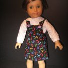 School/teacher uniform jumper for American Girl