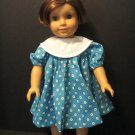 Big collar dress for American Girl