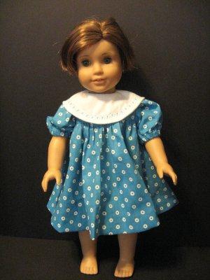 Big collar dress for American Girl