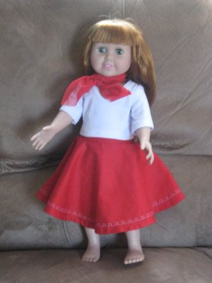 50's outfit for American Girl