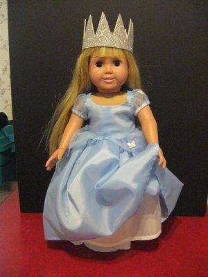 Cinderella dress for american girl doll