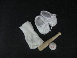 Softball accessory set for American Girl