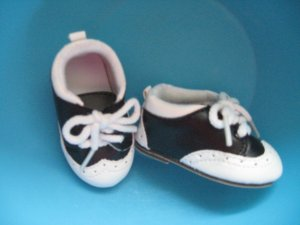 Saddle shoes for American girl dolls
