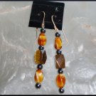 Tiger Eye/Hematite Earring