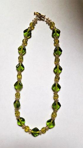 Green Glass Choker