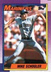 1990 Topps 681 Mike Schooler