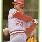 1983 Donruss #597 Mike Vail