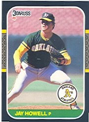1987 Donruss #503 Jay Howell