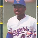 1987 Donruss #637 Dwayne Henry