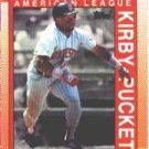 1990 Topps 391 Kirby Puckett AS