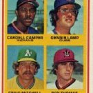 1978 Topps #711 Rookie Pitchers#{Cardell Campe RCr/Dennis Lamp RC/Craig Mitchell#/Roy Thomas RC DP