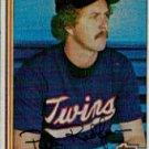 1982 Topps #309 Pete Redfern