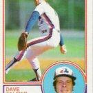 1983 Topps 164 David Palmer
