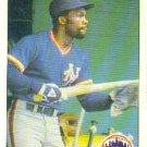 1984 Fleer #603 Mookie Wilson