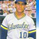 1987 Fleer #352 Juan Nieves