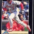 1992 Pinnacle #555 Brian Jordan RC