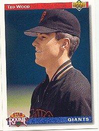 1992 Upper Deck 12 Ted Wood SR