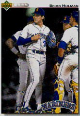 1992 Upper Deck 595 Brian Holman
