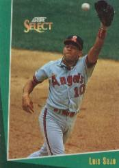 1993 Select #77 Luis Sojo