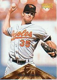 1996 Pinnacle #34 Mike Mussina