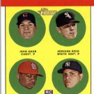 2012 Topps Heritage #54A John Gaub RC/Addison Reed RC/Adron Chambers RC/Dellin Betances RC