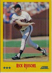 1988 Score 513 Juan Nieves