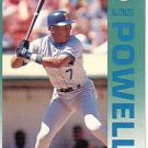 1992 Fleer 290 Alonzo Powell