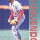 1992 Fleer 585 Jose Oquendo
