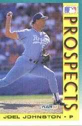1992 Fleer 673 Joel Johnston MLP